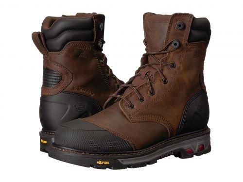 Justin(ジャスティン) メンズ 男性用 シューズ 靴 ブーツ 安全靴 ワーカーブーツ Warhawk Waterproof Comp Toe 8