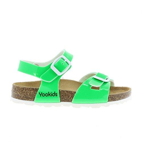 YOOKIDS - Tongs / Sandales - Kiwi - Vert