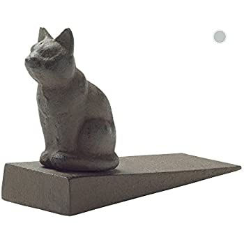 Comfify Vintage Cast Iron Cat Door Stop Wedge by Lovely Decorative Finish Padded Anti-  sc 1 st  Amazon.com & Amazon.com: Comfify Vintage Cast Iron Cat Door Stop Wedge by Lovely ...