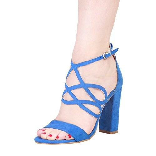 Made In Italia SandalsWomen Blue ekkkKieK
