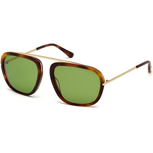 Tom Ford Sunglasses TF 453 Johnson Sunglasses 52N Havana 57mm by Tom Ford