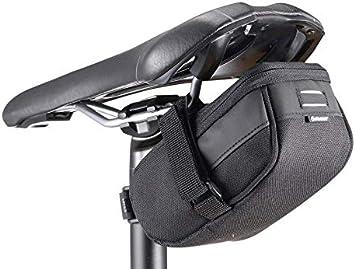 GIANT Bolsa Bolso de sillín de Bicicleta Ciclismo Shadow ST Seat Bag Negro L: Amazon.es: Deportes y aire libre