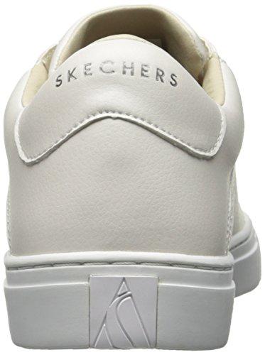 Skechers white Street Blanco Mujer Entrenadores Para Side Wht rrfTa