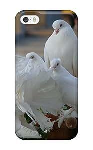 Hot Design Premium HILEOWv10391njslL Tpu Case Cover Iphone 5/5s Protection Case(bird)