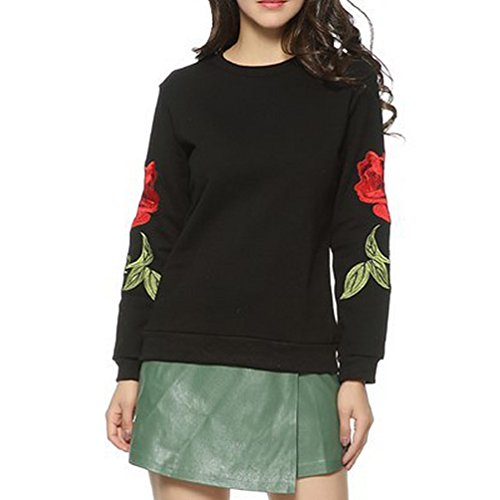 Crew Embroidered Sweatshirt - 6
