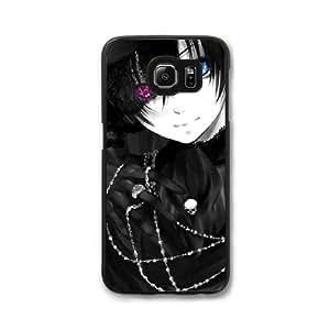 Black Butler G2S0UG1V Caso funda Samsung Galaxy S7 Edge Caso funda Negro