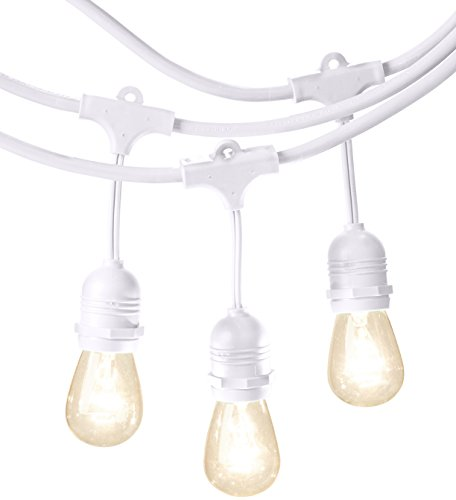 Solar String Lights White Cord in US - 9