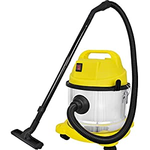 Cleanex 15-Litre (20 KPA-26000 RPM) Stainless Steel Wet & Dry Vacuum Cleaner with Blower/3in1 Vacuum Cleaner with HEPA…