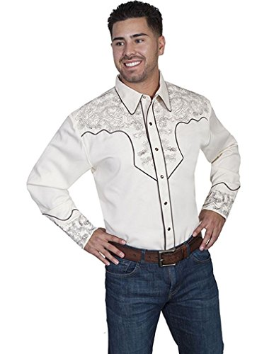 scully-paisley-western-shirt-cream-m