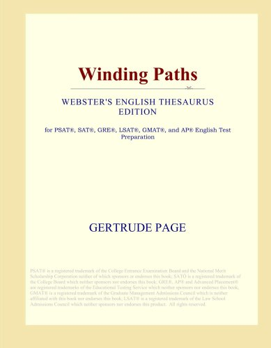 Read Online Winding Paths (Webster's English Thesaurus Edition) ebook