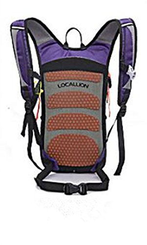 Montañismo bolsa bandolera bolsa macho al aire libre luz anti-splashing mochila 65L + 10L
