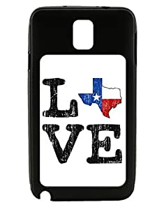 TooLoud Texas Love Distressed Design Galaxy Note 3 Case