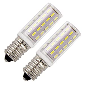 Cooker Hood Led Bulbs E14, 5Watt Equivalent 45W Cool White 6000K Small Edison Screw, 400 Lumens AC 220-230V, Small…