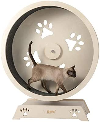 Wooden Wall Clock Cat With Big Tail