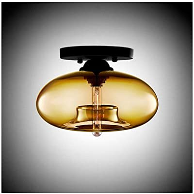 Modern LED Pendant Flush Mount Ceiling Fixtures Light Glass Ceiling Light Italy Art Glass Creative Ceiling Lamp Arcade Lighting Kitchen \u0026 Bathroom Lighting