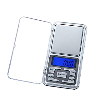 Digital Weight Scale, 200g Precision Digital Scales for Gold Jewelry 0.01 Weight Electronic Scale, High Precision Electronic Kitchen Scale