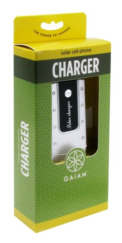 Gaiam Solar Powered Cell Phone Charger