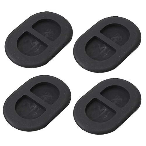 4PCS For Jeep Wrangler JK JL Floor Pan Plug Rear Floor Pan Body Plug Small Rubber Floor Drain Plugs 55397226AA ()
