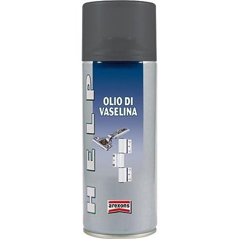 Aceite de VASELINA 3 en 1 400 ml SPRAY Mod. HELP Lubricante AREXONS: Amazon.es: Hogar