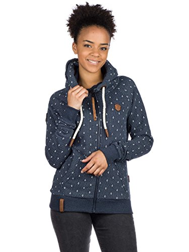 Naketano Female Zipped Jacket Brazzo Ankerdizzel marine (300)