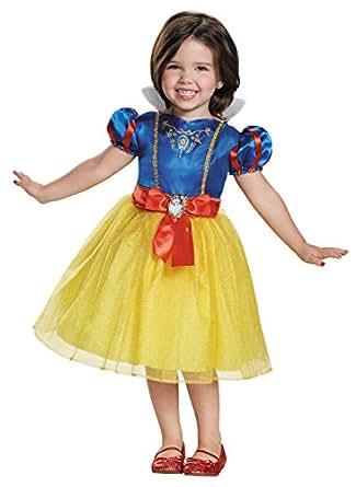 UHC Disney Princess Snow White Toddler Kids Fancy Dress Halloween Costume, 3T-4T
