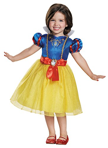 UHC Disney Princess Snow White Toddler Kids Fancy Dress Halloween Costume, 3T-4T