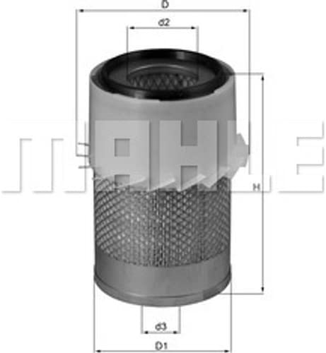 Mahle Knecht Lx 730 Air Filter Auto
