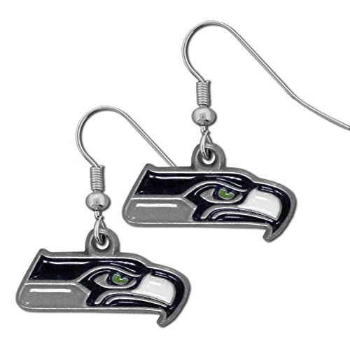 NFL Seattle Seahawks Dangle Earrings (Charm Nfl Small)