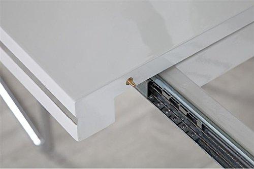 Design Extensible De Table Blanc Repas Losane FTc3l1KJ
