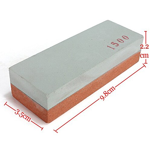 Myzenstore 400X1500 Two Sides Sharpening Stone Whetstone Polishin Knife Grinder