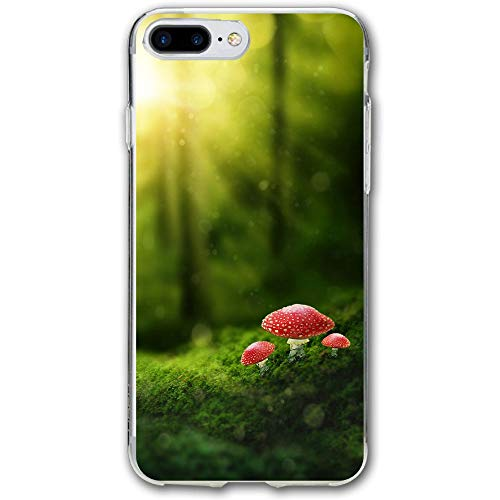 (Oil Painting Forest Resistant Cover Case Compatible iPhone 7 Plus iPhone 6 Plus)