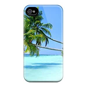 Dana Lindsey Mendez Scratch-free Phone Case For Iphone 4/4s- Retail Packaging - Beach