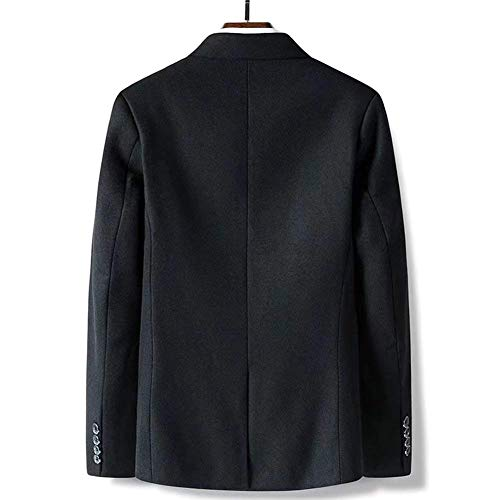 Da Fit Completo Lana Coat Business Blazer Risvolto Slim Mode Leisure Uomo Formal Schwarz Classic Di Marca Bolawoo Smart Casual R5gqSxw