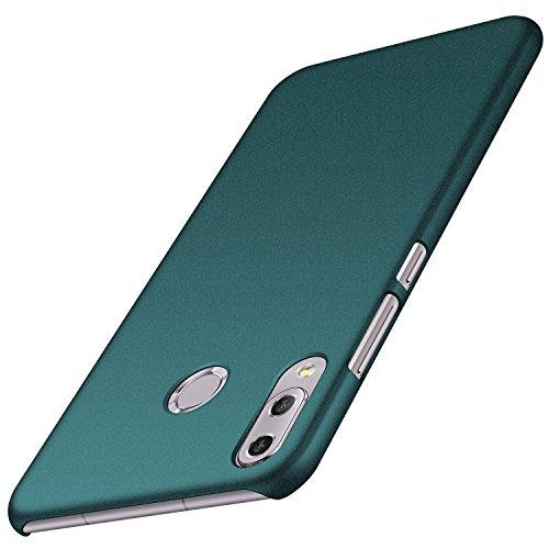 エコー貝殻写真【Anccer】 スマホケース Asus Zenfone 5 ZE620KL ケース おしゃれダート抵抗性能をドロップ超極薄オールインクルーシブ セキュリティ耐衝撃 (サンドロックグリーン)