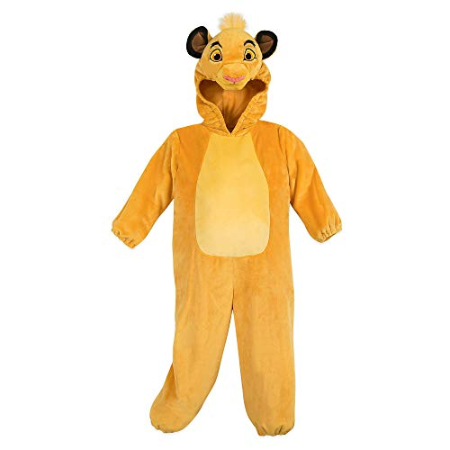 Kings Costume For Kids (Disney Simba Costume for Kids - The Lion King Size 5T)