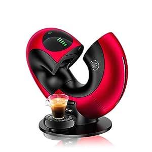 DELONGHI Nescafé Dolce Gusto Eclipse Máquina de café, 1500 W, efecto cepillado, EDG 737, B Cafetera Rot Metal: Amazon.es: Hogar