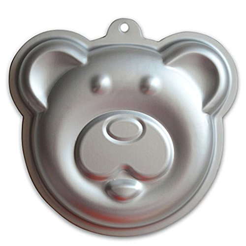 GXHUANG 7.8 inch Panda Cakes Aluminum Alloy Cake Baking Mold Springform Pan (Bear Cake Mold)