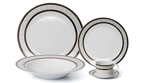 Royalty Porcelain 57-pc Banquet Dinnerware Set for