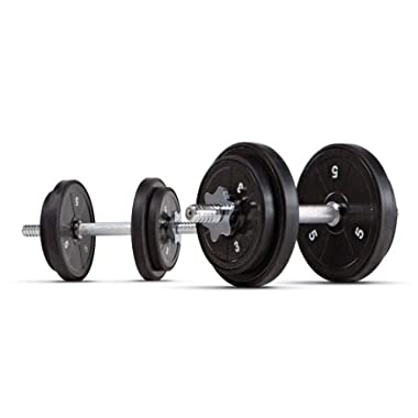 Marcy ADS-42 ECO Iron 40 lb. Adjustable Dumbbell Set