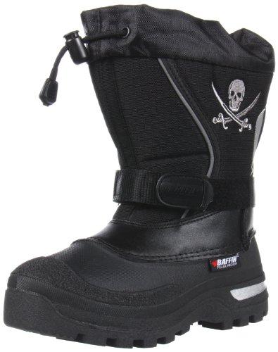 Baffin Pirate Snow Boot (Little Kid/Big Kid),Black,4 M US Little Kid