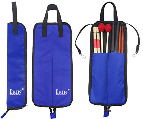 Drumstick Bag Case, Buytra Drum Stick Holder Percussion Drum Mallet Bag with Floor Tom Hooks, - Bag Floor Tom Drumstick