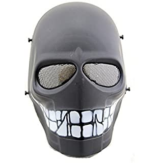 Tactical Airsoft Paintball CS Cosplay Hockey BB proteger Cosplay disfraces de Halloween máscara protectora 10 colores