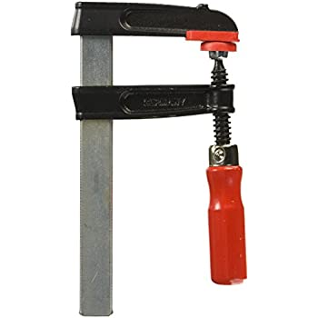 Black//Red//Silver Bessey TGRC30B8 Screw Clamp Tgrc 11.81In//3.15In of Cast-IRON
