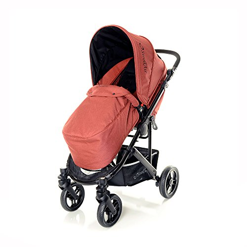 STROLL-AIR StrollAir Cosmos Single Stroller, Red