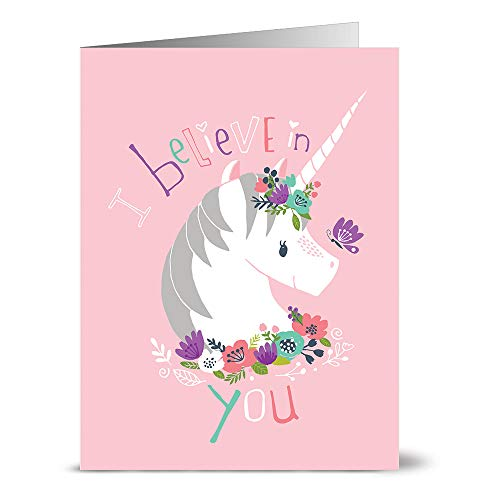 24 Note Cards - I Believe in You - Blank CardsYellow Envelopes Included
