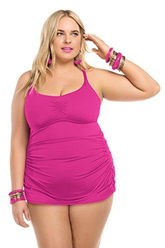 Becca-ETC-Womens-Plus-Size-Janis-Skirted-One-Piece-Swimsuit-3X-BeccaETC16FCA