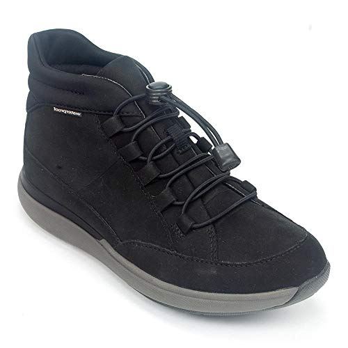 CLARKS Un Cruise Mid Womens Sneaker Boot Black Nubuck 8.5