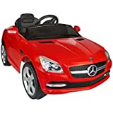 Mercedes Benz SLK Class 6V Kids Electric Ride-On Car with MP3 and Remote Control - Red