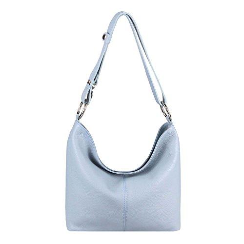 28x24x14 Pastello Borsa lxaxp Per Obc A Blu bella couture Tracolla Donna Cm Solo vFvxwza