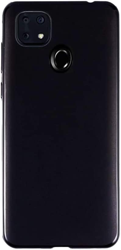 FLYME for ZTE Zmax 10 /ZTE Z6250 Case,Flexible Scratch Resistant Non-Slip Shockproof Cover Soft TPU Rubber Slim Fit Case,Black